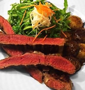 Érlelt hátszín steak